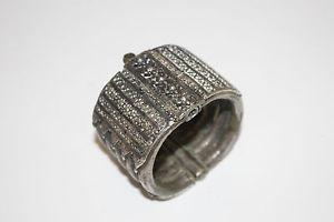 【送料無料】イタリアン ブレスレット プチブレスレットベルベルブロンズbijoux petit bracelet berbere ou esclave bronze argent 19 eme ref 187