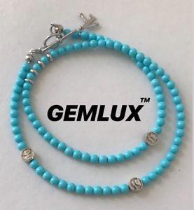 【送料無料】メンズブレスレット 1isaiaトルコシルバーラップブレスレットサイズisaia turquoise silver wrap bracelet onesize