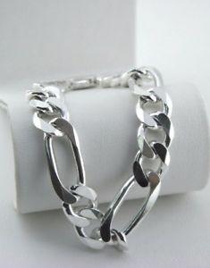 【送料無料】メンズブレスレット イタリアスターリング8チェーンブレスレット19italy sterling silver 8 mens chain bracelet 19