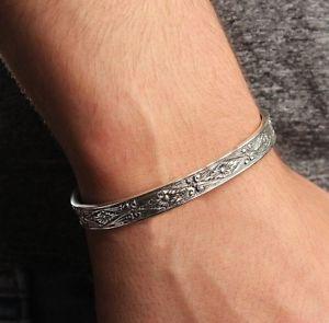 【送料無料】メンズブレスレット トルコジュエリー925スターリングスペシャルmensブレスレットturkish handmade jewelry 925 sterling silver special art mens mans bracelet