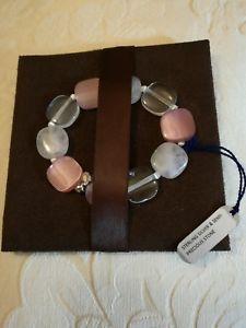 【送料無料】メンズブレスレット スクエアビーズシルバーストレッチブレスレットバレンタインtateossian square bead amp; silver stretch bracelet semi precious, valentines day