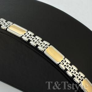 【送料無料】メンズブレスレット unique tt 316ポンドステンレスブレスレットunique tamp;t 316l stainless steel bracelet