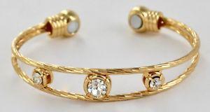 【送料無料】メンズブレスレット レディースカフladies magnetic copper healing arthritis bracelet joint pain relief therapy cuff