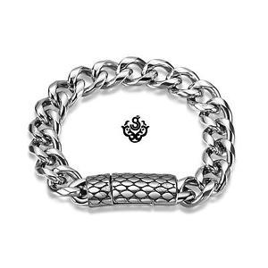 【送料無料】メンズブレスレット シルバーブレスレットステンレスメンズチェーンsilver bracelet stainless steel mens chain 21cm fathers day gift