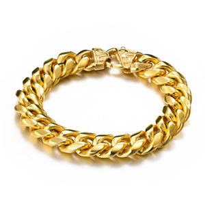 【送料無料】メンズブレスレット ステンレスジュエリーkゴールドメッキオスブレスレットmens 316l stainless steel jewelry 18k gold plated men bracelet for male b187