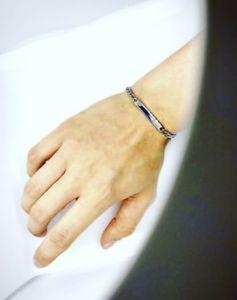 【送料無料】メンズブレスレット メンズステンレススチールシルバーフィガロチェーンブレスレットベストセラーtop quality mens 316l stainless steel silver figaro chain id bracelet uk seller