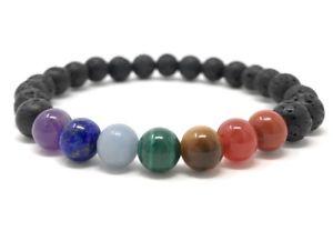 【送料無料】メンズブレスレット メンズチャクラパワービーズブレスレットサイズタグmens chakra power bead bracelet size choice information tag