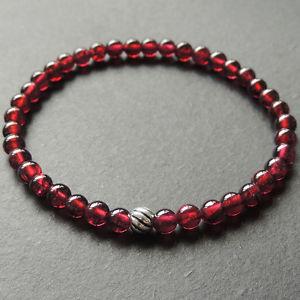 【送料無料】メンズブレスレット ブレスレット45mmaaas925スターリング620mmens healing gemstone bracelet 45mm aaa garnet s925 sterling silver bead 620m
