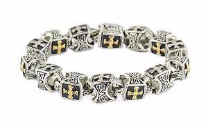 【送料無料】メンズブレスレット シークレットクロスブレスレットヘラルドpastoral secret cross bracelet pontiff jewelry herald truth us seller