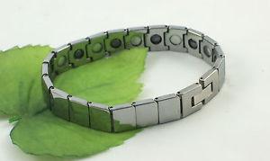 【送料無料】メンズブレスレット リンクタングステンカーバイドブレスレットgents heavyweight rectangular link tungsten carbide magnetic 8 bracelet