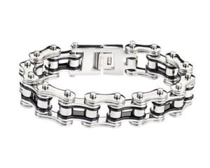 【送料無料】メンズブレスレット cool polished heavy bike chainステンレスリンクブレスレットジュエリーcool polished heavy bike chain stainless steel link bracelet jewelry