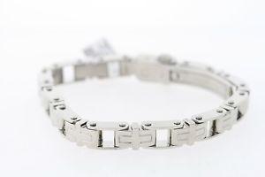 【送料無料】メンズブレスレット メンズステンレススチールロサンゼルスブレスレットmens shr amp; simmons 9mm stainless steel los angeles bracelet