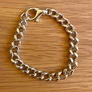 【送料無料】メンズブレスレット スターリングシルバーブレスレットボックス10 sterling silver curb bracelet hallmarked with gift box 59g 11mm wide
