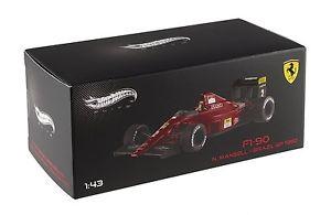【送料無料】模型車 スポーツカー hotwheels elite 143ferrari f190 nmansell brasil gp1990hotwheels elite 143 ferrari f190 nmansell brasil gp 1990