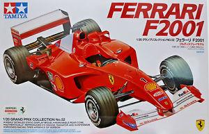 【送料無料】模型車 スポーツカー フェラーリf2001tamiyaキット120 20052ferrari f2001tamiya kit 120 20052