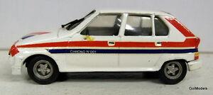 【送料無料】模型車 スポーツカー quiralu 143シトロエンビザiiヴィンテージホワイトメタルモデルカーquiralu 143 scale citroen visa ii vintage white metal model car in white