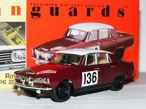 【送料無料】模型車 スポーツカー va270082000ロジャークラーク1965モンテカルロラリーltd ed 143vanguards va27008 rover 2000 roger clark 1965 monte carlo rally ltd ed 143