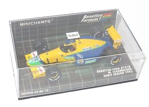 【送料無料】模型車 スポーツカー 143ベネトンフォードb191b 1992 mschumacherアーリー143 benetton ford b191b  1992 mschumacher  early season car