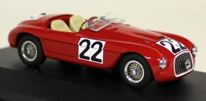 【送料無料】模型車 スポーツカー ixo 143lm1949フェラーリ166mm22ルマン1949ダイカストモデルカーixo 143 scale lm1949 ferrari 166mm 22 winner le mans 1949 diecast model car