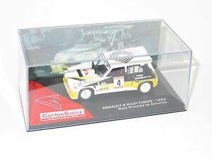【送料無料】模型車 スポーツカー ルノーマキシターボラリープリンシペデアストゥリアススペインサインツ143 renault 5 maxi turbo rally principe de asturias spain 1986 csainz
