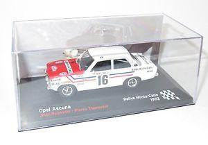 【送料無料】模型車 スポーツカー オペルアスコナラジオモンテカルロラリーモンテカルロジャン143 opel ascona radio monte carlo rallye monte carlo 1972  jean ragnotti