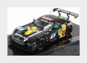 【送料無料】模型車 スポーツカー メルセデスグアテマラチームレーシング#ニュルブルクリンクネットワークmercedes sls amg gt3 team haribo amg racing 8 nurburgring 2017 ixo 143 gtm114