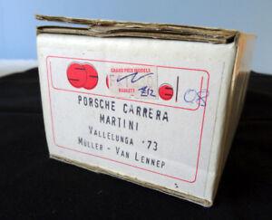 【送料無料】模型車 スポーツカー scポルシェカレラマルティーニvallelungaモデル1973キット143sc models porsche carrera martini vallelunga 1973 resin kit 143