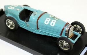 【送料無料】模型車 スポーツカー brumm 143r173ブガッティタイプ59 gpイタリア1931ダイカストモデルカーbrumm 143 scale r173 bugatti type 59 gp italia 1931 diecast model car