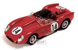 【送料無料】模型車 スポーツカー フェラーリ#ルマンネットワークferrari 250 tr testarossa 30l v12 14 winner 24h le mans 1958 ixo 143 lm1958 m