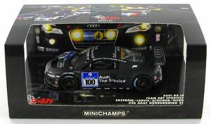 【送料無料】模型車 スポーツカー 242010143nurburgringアウディr8 lms100チームabt sportslineaudi r8 lms 100 team abt sportsline nurburgring 24hr 2010 143