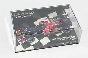 【送料無料】模型車 スポーツカー 143トロロッソコスワースstr1テストドライバー2006njani143 toro rosso cosworth str1  test driver edition 2006 njani