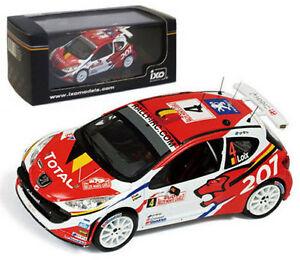 【送料無料】模型車 スポーツカー ネットワークプジョーモンテカルロラリーロイクススケールixo ram363 peugeot 207 s2000 monte carlo rally 2009 f loix 143 scale
