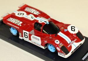 【送料無料】模型車 スポーツカー brumm 143s045フェラーリ512mルマン1971 filipinettiダイカストモデルカーbrumm 143 scale s045 ferrari 512m le mans 1971 filipinetti diecast mode