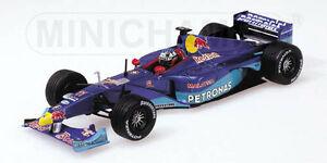 【送料無料】模型車 スポーツカー ジャンアレジ1999143ザウバーペドロナスc18143 sauber petronas c18 red bull  jean alesi 1999 season