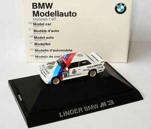 【送料無料】模型車 スポーツカー ディーラーエディション187 bmw m3 e30 dtm 1989 linder nr18 altfried heger dealer edition herpa