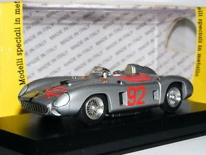 【送料無料】模型車 スポーツカー モデルart199フェラーリ860モンツァ1956ナッソー92 143art model art199 ferrari 860 monza 1956 nassau speed week 92 143