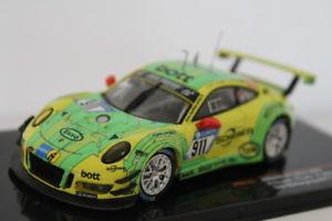 【送料無料】模型車 スポーツカー ポルシェグアテマラレーシング#ニュルブルクリンクネットワークporsche 911 9912 gt3 r manthey racing 911 24h nurburgring 2017 ixo 143 gtm115