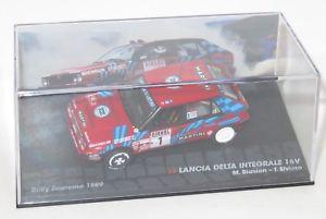 【送料無料】模型車 スポーツカー sanremo 1989mbiasion143ランチアデルタintegrale 16vマティーニ143 lancia delta integrale 16v martini racing rally sanremo 1989 mbiasi