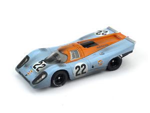 【送料無料】模型車 スポーツカー ポルシェルマン#レースporsche 917k le mans 1970 hailwood hobbs 22 raced pilota brumm 143 r495r mod