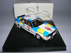 【送料無料】模型車 スポーツカー アウディクアトロラリーデサンレモ#trofeu audi quatro rallye de san remo 1982 gangant blomqvist cederberg 143 9