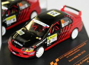 【送料無料】模型車 スポーツカー スケールランサーエボラリーダイカストモデルvitesse 143 scale 43416 mitsubishi lancer evo ix barum rally 2010 diecast model