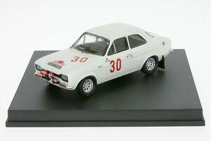 【送料無料】模型車 スポーツカー フォードエスコートクラークラリー143 tr0509 ford escort 1600 tc clark rally akrop 1968