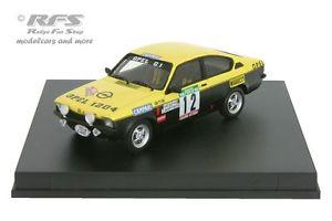 【送料無料】模型車 スポーツカー オペルラリーポルトガルopel kadett gte rally portugal 1976mequepe 143 trofeu tr 2101