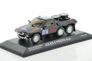 【送料無料】模型車 スポーツカー ダカールラリープロトジュール×dakar proto ii jules 6x4 1984 143 norev 845204