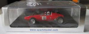 【送料無料】模型車 スポーツカー ドイツスパークf1 143 brm p57 german gp 1964 g baghetti spark