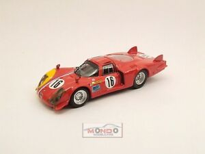 【送料無料】模型車 スポーツカー アルファロメオスパ#ベストモデルalfa romeo 332 lunga spa 1968 prova t pilett 16 best 143 be9435 model