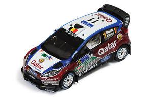 【送料無料】模型車 スポーツカー フォードフィエスタ#ラリーメキシコモデルford fiesta wrc 11 3rd rally mexico 2013 t neuville n gilsoul 143 model