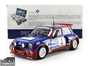 【送料無料】模型車 スポーツカー ルノーマキシターボラリーツールドコルスsolido 118 renault 5 maxi turborally tour de corse 1985 1850027