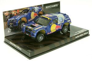 【送料無料】模型車 スポーツカー フォルクスワーゲンプレゼンテーションモーターショーダカールラリー143 vw touareg presentation motor show 2004 143 dakar rally mc 436055300