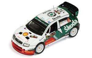 【送料無料】模型車 スポーツカー シュコダファビアラリーキプロス143 skoda fabia wrc rally cyprus 2005  jtuohino mmarkkula